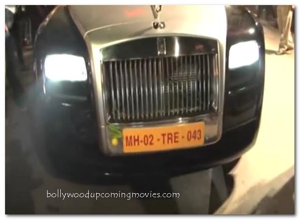Priyanka Chopra Rolls Royce car