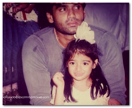 athiya shetty baby pictures