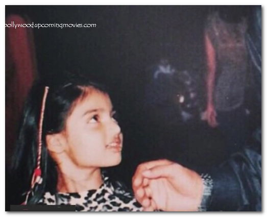 athiya shetty childhood images