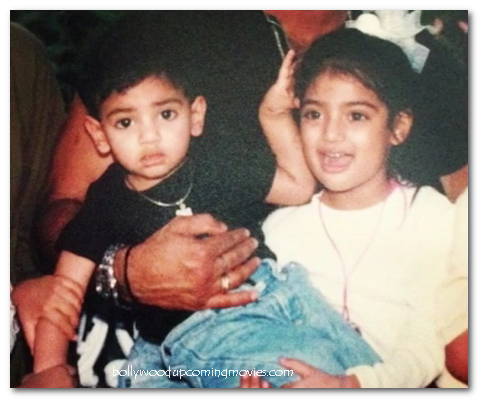 athiya shetty childhood pictures