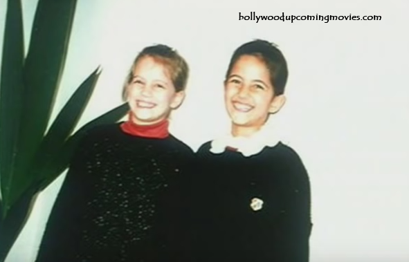 Katrina Kaif childhood photo