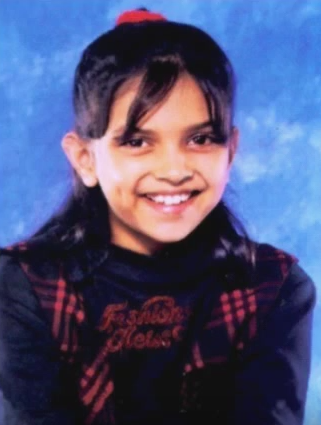 deepika padukone childhood photo