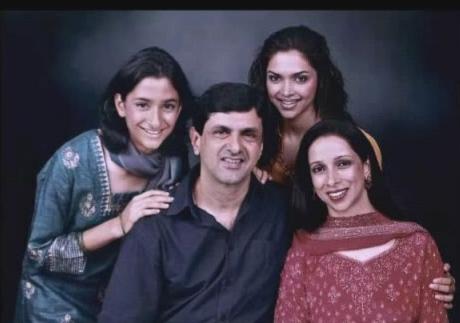 deepika padukone family pictures