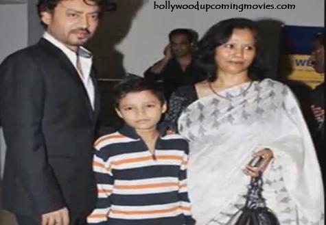 irrfan khan wife son