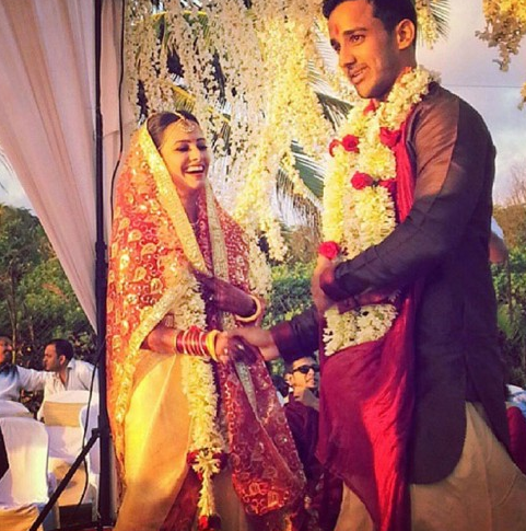 anita hassanandani wedding photo marriage