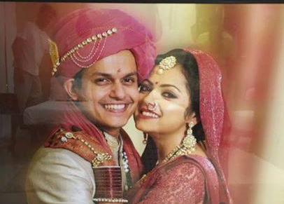 drashti dhami husband niraj wedding photo