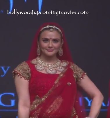 preity zinta wedding dress