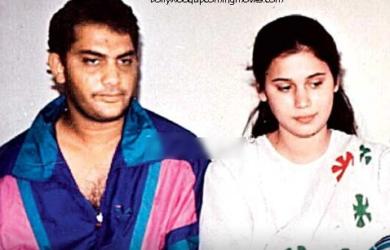 azharuddin first wife naureen real photo