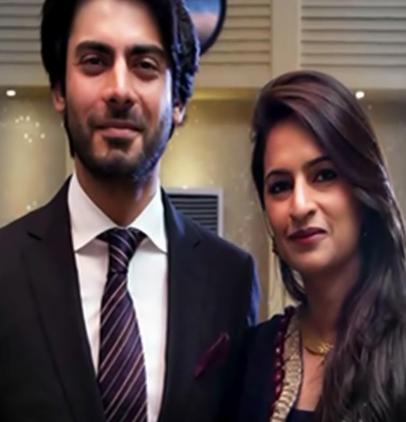 fawad khan wife sadaf photo