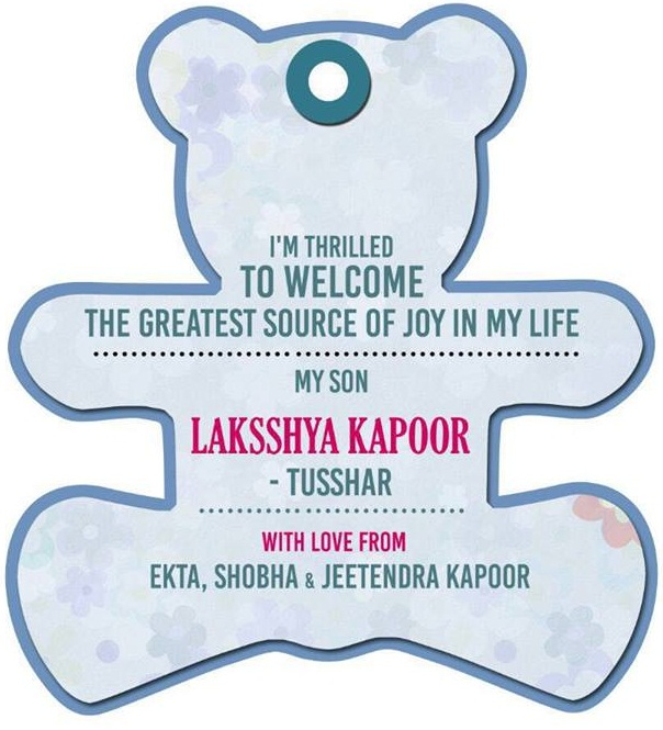 Tusshar Kapoors son Laksshya Kapoor- photo