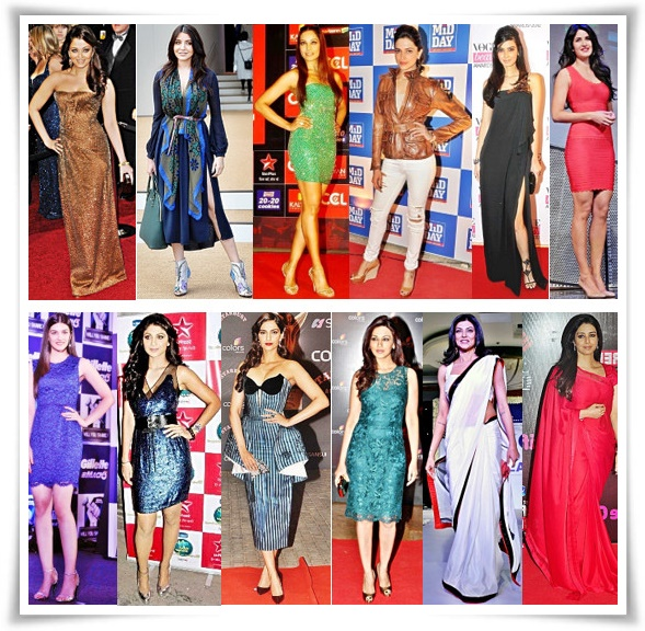 Bollywood Actresses - Height (Tallest to Shortest) in Feet